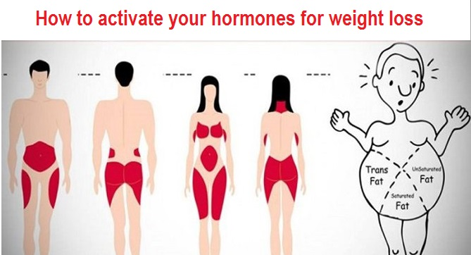 How to activate your hormones for weight loss