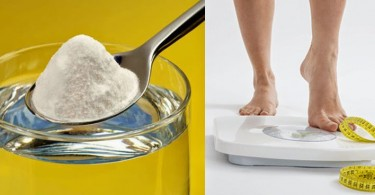 Lose weight with baking soda
