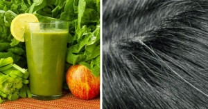 green smoothie reverse gray hairs