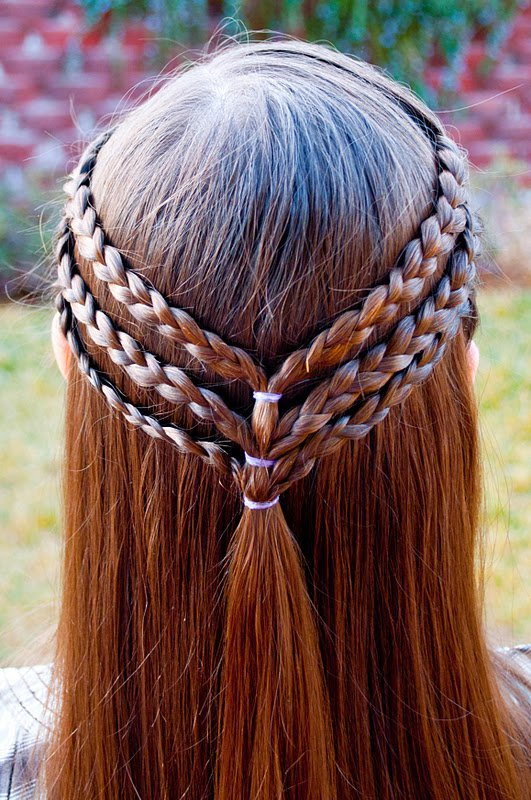 Enjoyable Updos With Braids Step By Step Hairstyles For Women Draintrainus