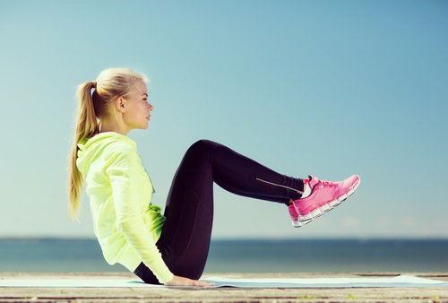 Staying in workout clothes after exercising