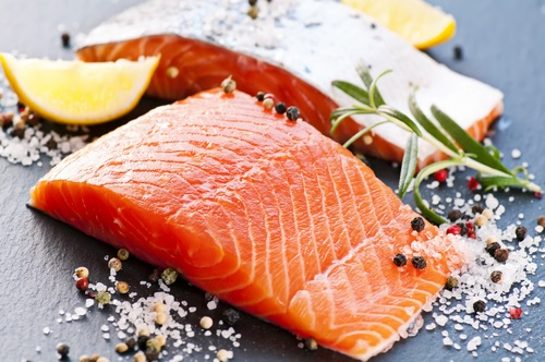salmon rich in omega 3