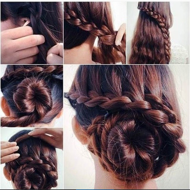 excellent and creative hairstyle