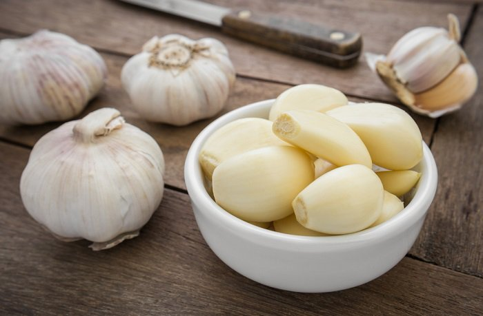 using-garlic